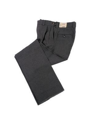 Charcoal Ultimate Pleated Base Pant