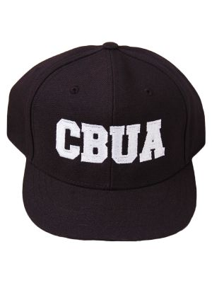CBUA 4-Stitch Hat - Black