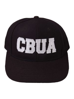 CBUA 6-Stitch Hat - Black