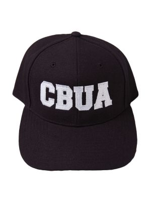 CBUA 8-Stitch Hat - Black