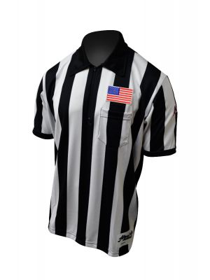 "2"" Stripe SS B-Flex Shirt w/ NAIA Logo on Left Sleeve"