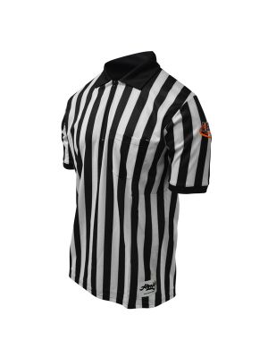 Pro Soft Striped Football Shirt Short Sleeve W/ IHSA Logo