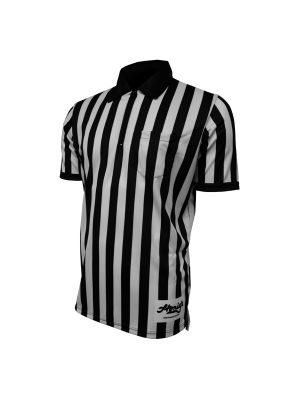 "Honig's 1"" Striped Ultra Tech Short Sleeve Football/Lacrosse Shirt"