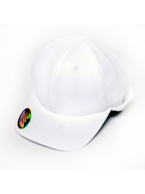 Richardson Flex Fit Football Hat With Ear Flap White