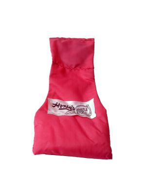 Pink - Nylon Stay-Put Single Bean Bag