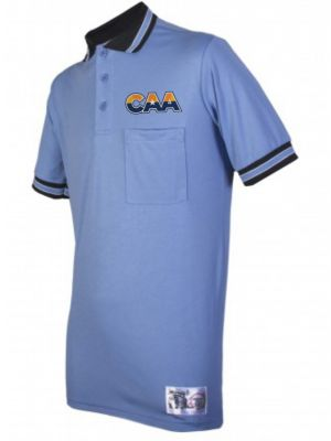 CAA Baseball Shirt - Polo Blue