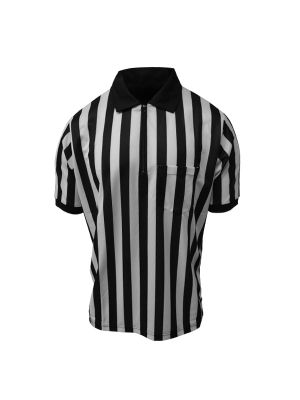 "Honig's 1"" Striped ProSoft Short Sleeve Football/Lacrosse Shirt"