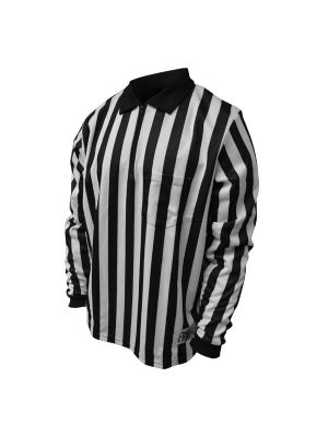 "Honig's 1"" Striped Windstopper Lined Long Sleeve Football/Lacrosse Shirt"
