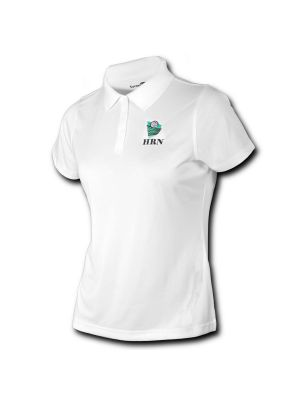 Women's Volleyball Polo - White - Houston Referee Network