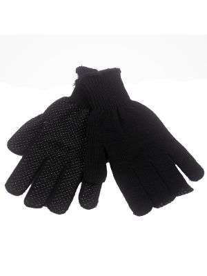 Black Nubby Grip Glove