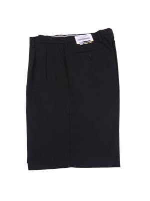 BLACK Pleated Lacrosse Short