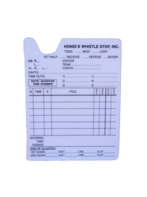Plastic Information Card