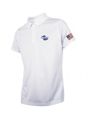 Georgia HSA Embroidered Women's Volleyball & Swimming Shirt - White