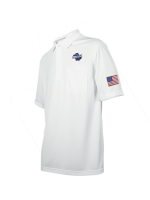 Georgia HSA Embroidered Men's Volleyball & Swimming Shirt - White
